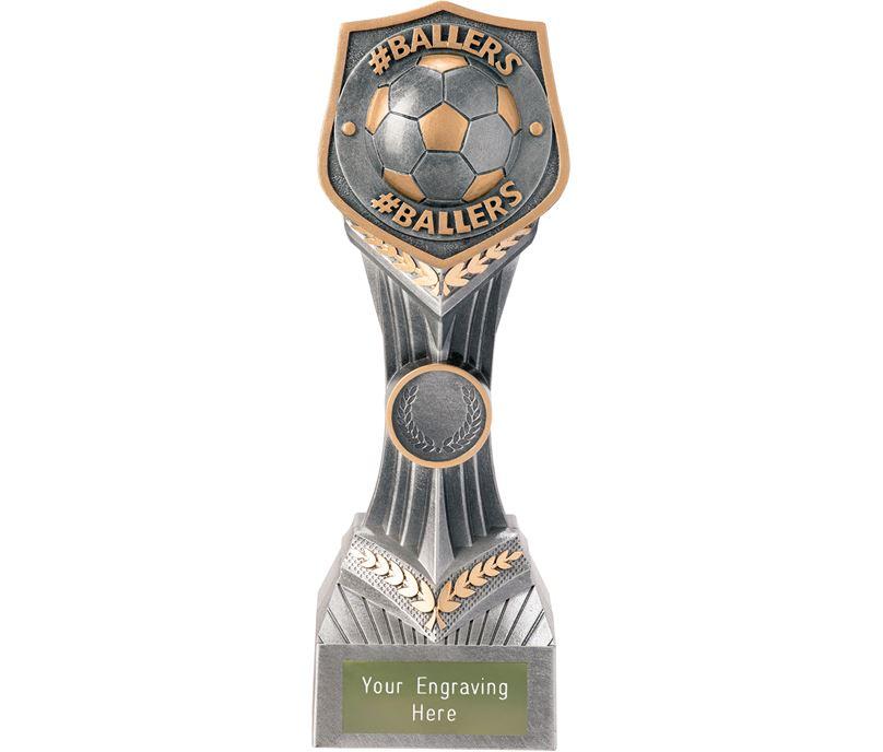 "Football #Ballers Falcon Trophy 22cm (8.75"")"