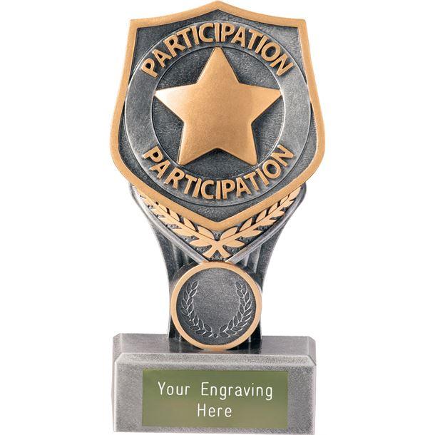 """Achievement Participation Falcon Trophy 15cm (6"""")"""