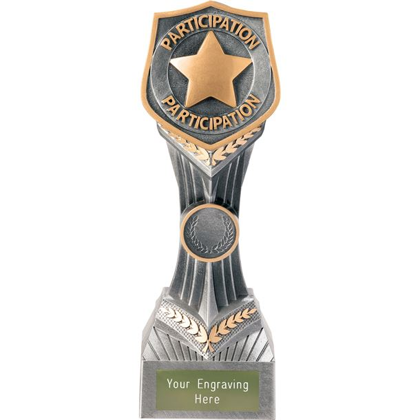 """Achievement Participation Falcon Trophy 22cm (8.75"""")"""