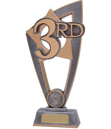 """3rd Place Star Blast Trophy 18cm (7"""")"""