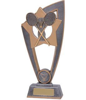 "Badminton Star Blast Trophy 23cm (9"")"