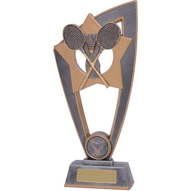"Badminton Star Blast Trophy 18cm (7"")"