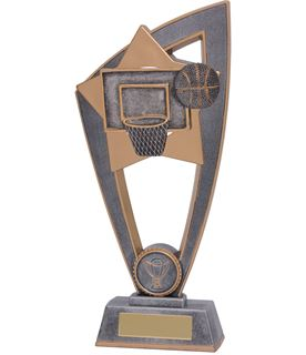 "Basketball Star Blast Trophy 20cm (8"")"