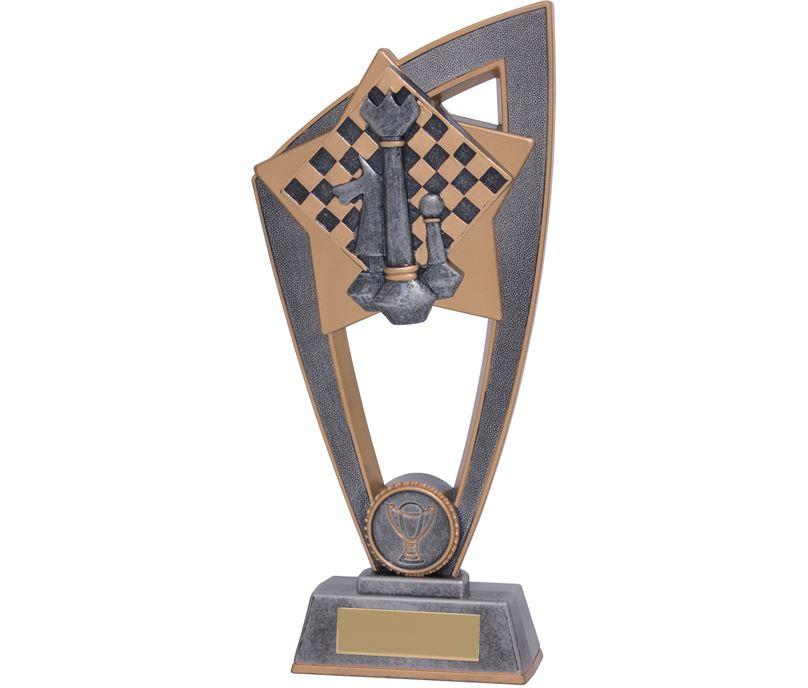 "Chess Star Blast Trophy 18cm (7"")"