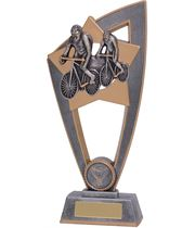 "Cycling Star Blast Trophy 18cm (7"")"