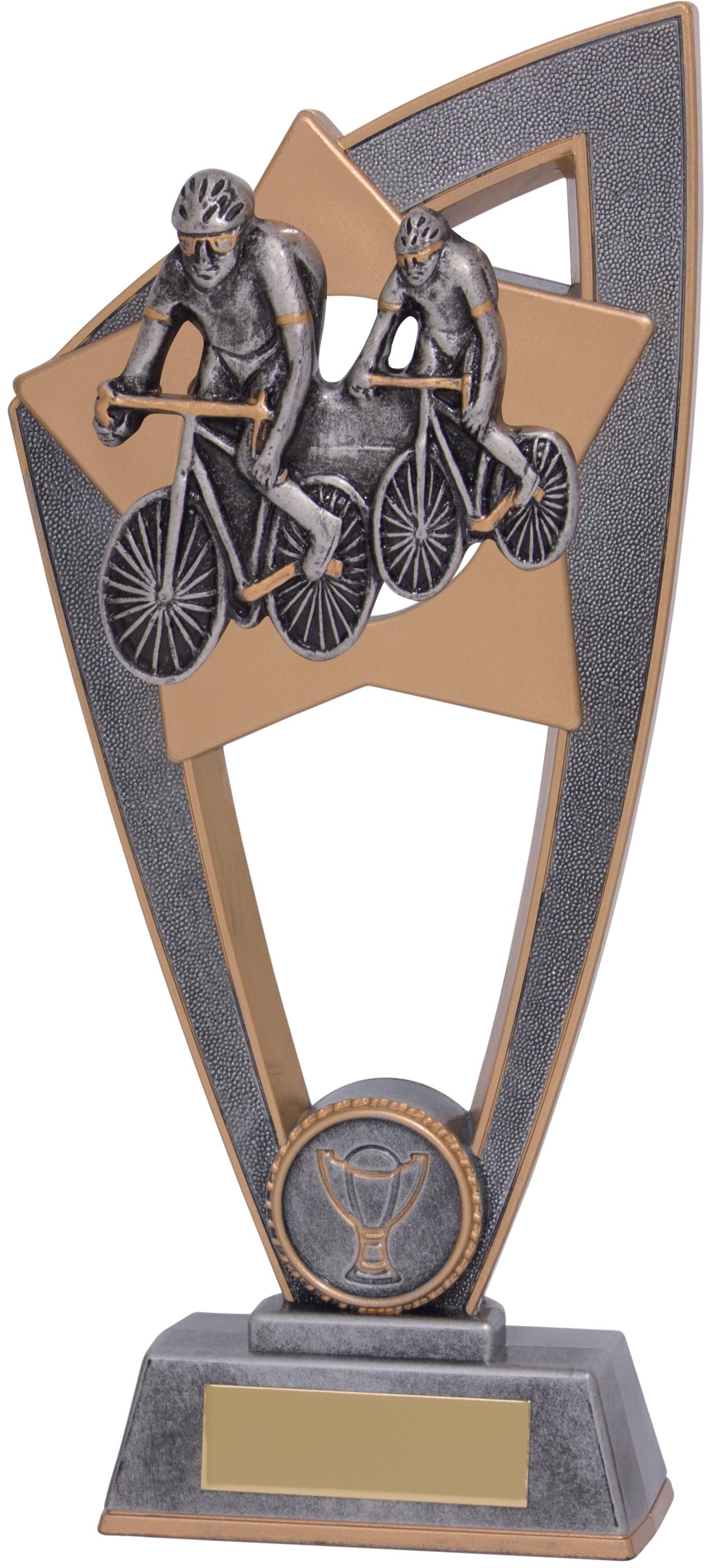 """Cycling Star Blast Trophy 18cm (7"""")"""