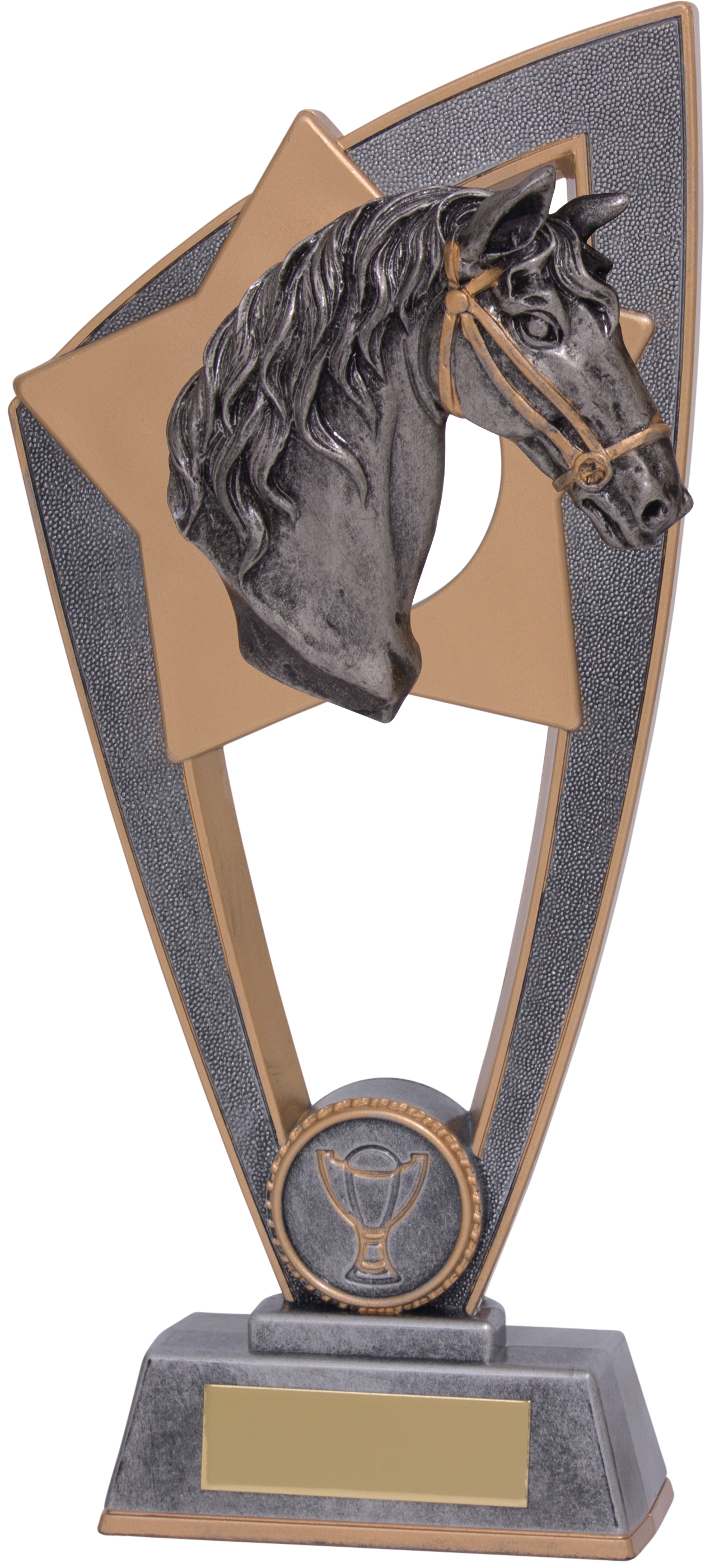 """Equestrian Horse Star Blast Trophy 23cm (9"""")"""