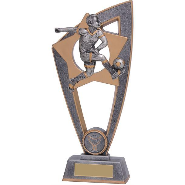 """Football Male Star Blast Trophy 20cm (8"""")"""