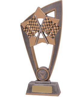 "Motorsport Flags Star Blast Trophy 18cm (7"")"