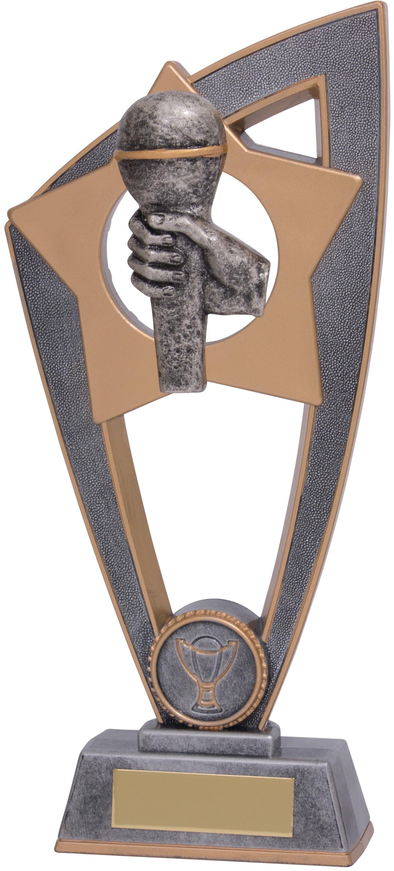 "Microphone Star Blast Trophy 18cm (7"")"