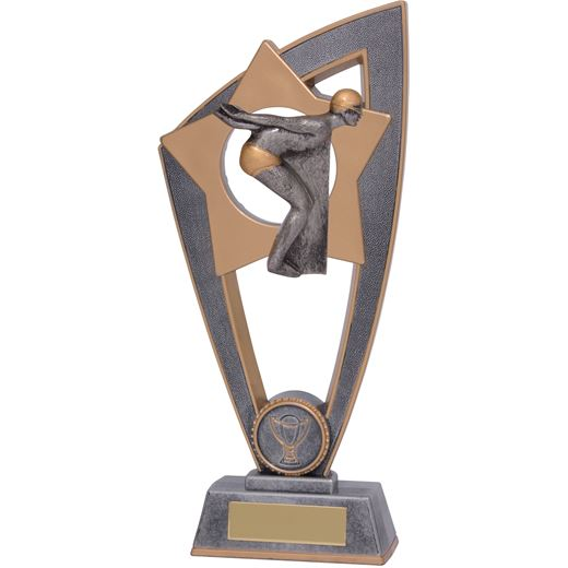 "Swimming Star Blast Trophy 18cm (7"")"