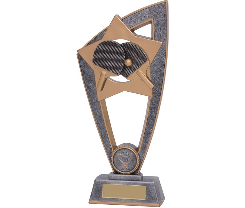"Table Tennis Star Blast Trophy 18cm (7"")"