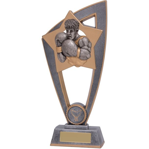 "Boxing Star Blast Trophy 23cm (9"")"