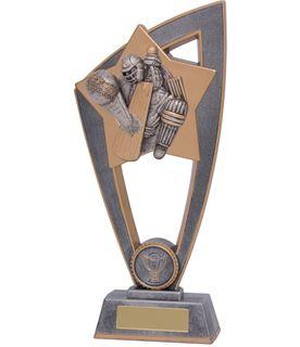 "Cricket Batsman Star Blast Trophy 18cm (7"")"