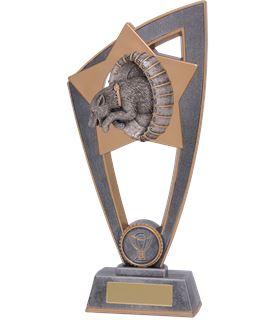 """Dog Agility Star Blast Trophy 23cm (9"""")"""