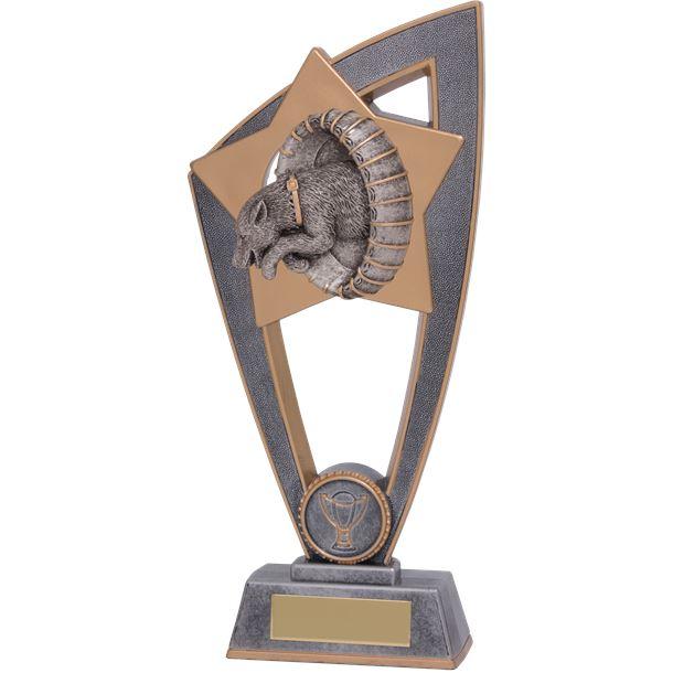 """Dog Agility Star Blast Trophy 18cm (7"""")"""