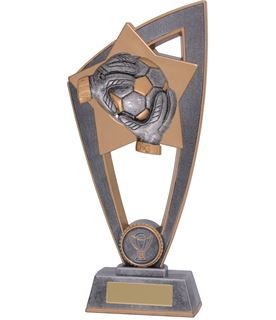 "Football Goalkeeper Star Blast Trophy 23cm (9"")"