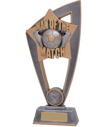 "Man Of The Match Star Blast Trophy 18cm (7"")"