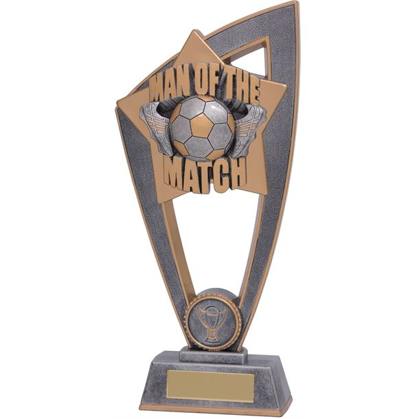"Man Of The Match Star Blast Trophy 18cm (7"")"