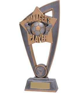 "Managers Player Star Blast Trophy 18cm (7"")"