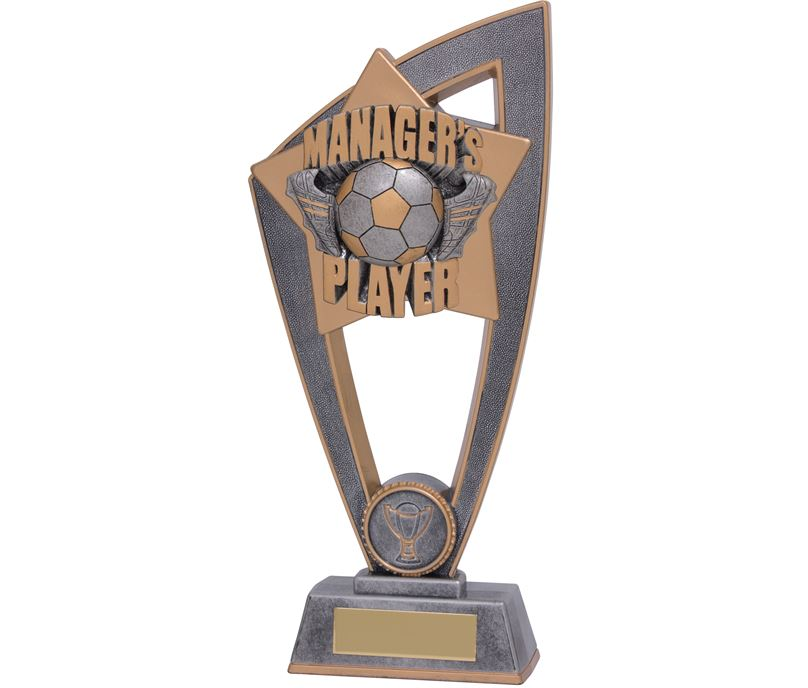 "Managers Player Star Blast Trophy 23cm (9"")"