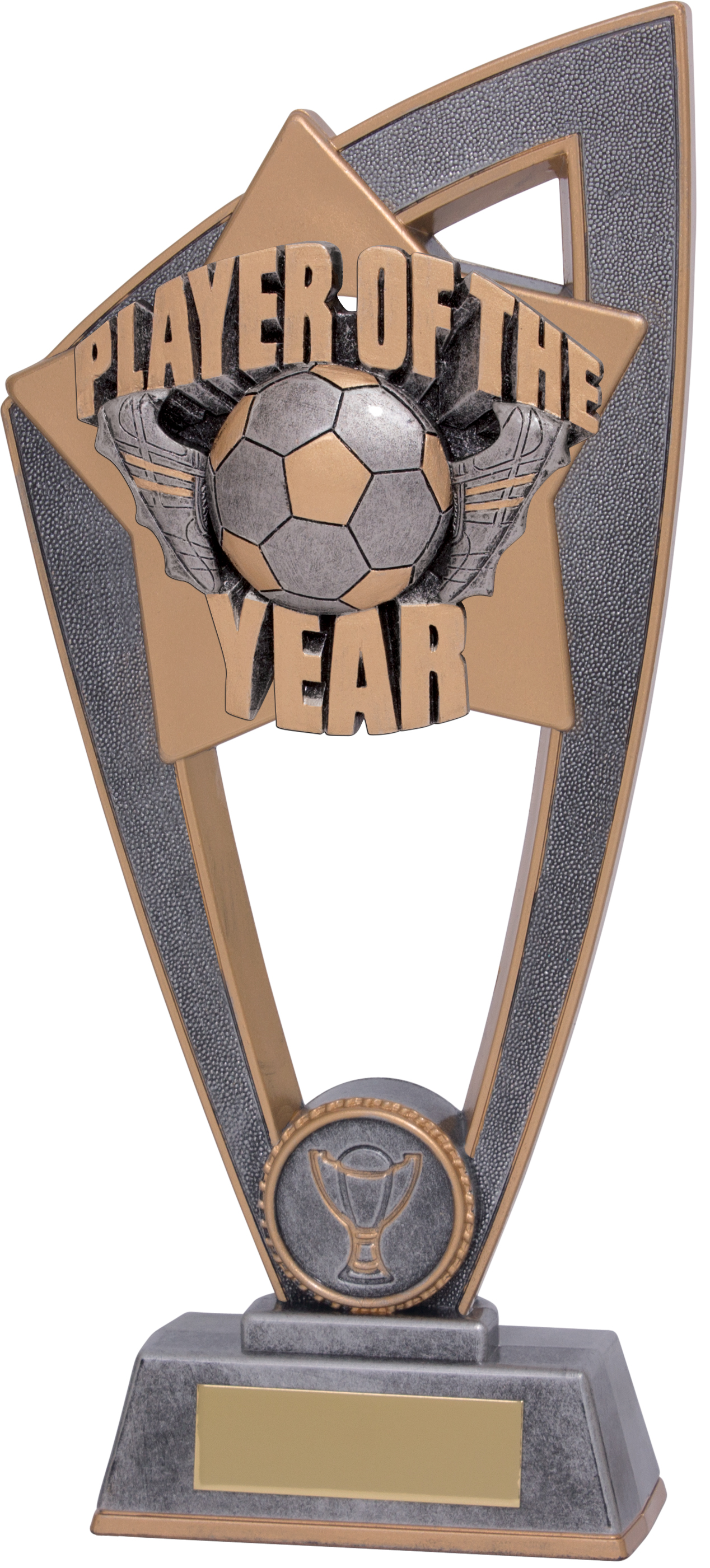 """Player Of The Year Star Blast Trophy 23cm (9"""")"""
