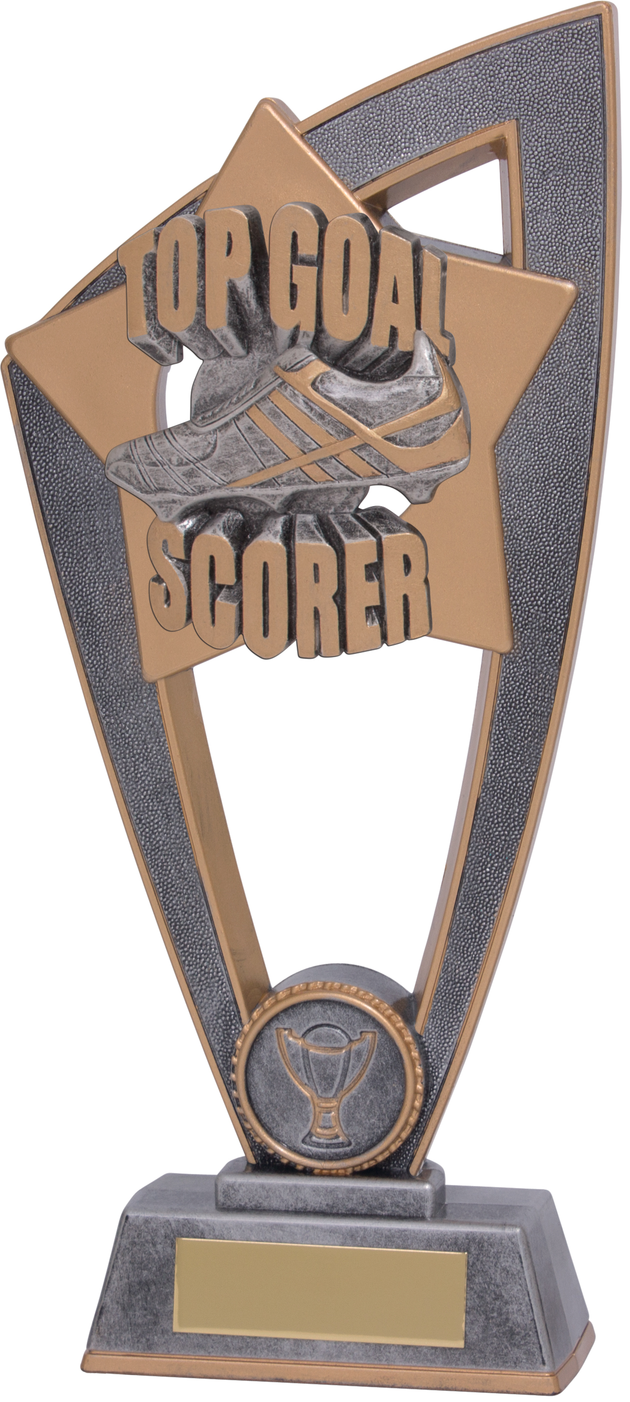 "Top Goal Scorer Star Blast Trophy 23cm (9"")"