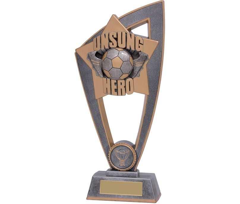 "Football Unsung Hero Star Blast Trophy 23cm (9"")"
