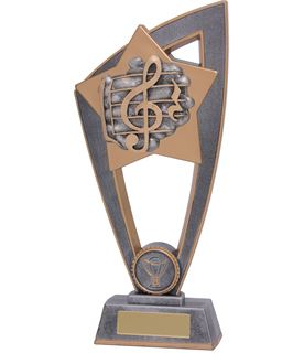 "Music Star Blast Trophy 20cm (8"")"