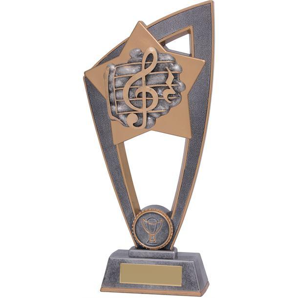 "Music Star Blast Trophy 18cm (7"")"