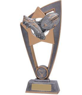 """Rugby Star Blast Trophy 23cm (9"""")"""