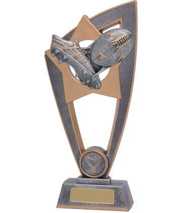 """Rugby Star Blast Trophy 18cm (7"""")"""