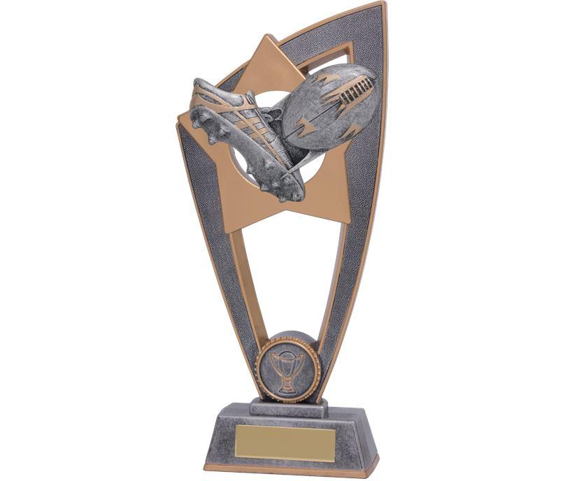 """Rugby Star Blast Trophy 20cm (8"""")"""
