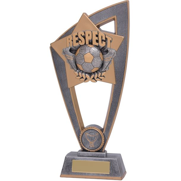 "Football Respect Star Blast Trophy 23cm (9"")"
