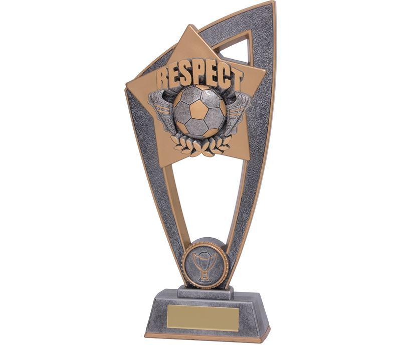 "Football Respect Star Blast Trophy 18cm (7"")"