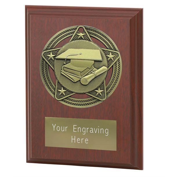 "Academic Plaque Award by Infinity Stars 10cm (4"")"