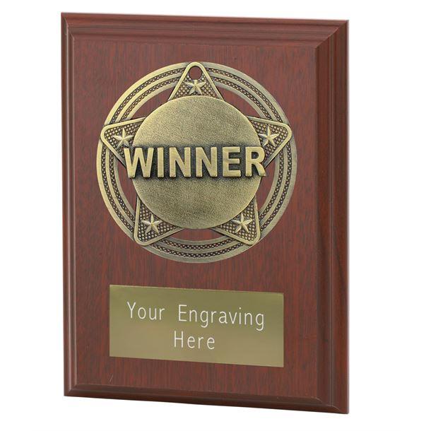 "Winner Plaque Award by Infinity Stars 10cm (4"")"