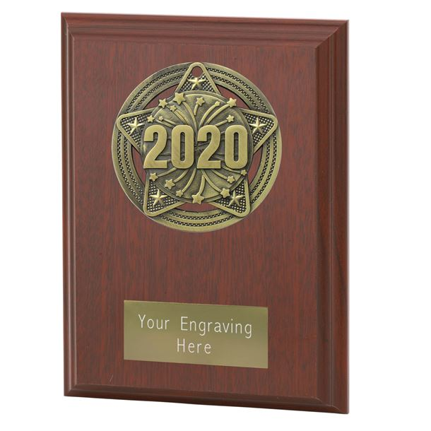 "2020 Plaque Award by Infinity Stars 12.5cm (5"")"