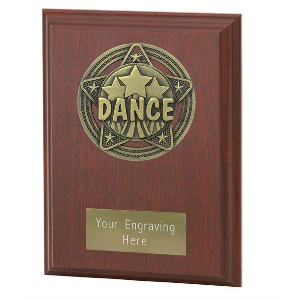 "Dance Plaque Award by Infinity Stars 12.5cm (5"")"