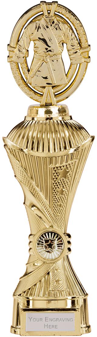 "Maverick Karate Heavyweight Trophy Gold 30.5cm (12"")"