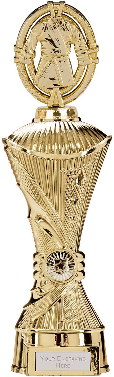 "Maverick Karate Heavyweight Trophy Gold 33cm (13"")"