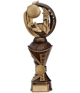 """Renegade Golf Heavyweight Trophy Bronze & Antique Gold 28.5cm (11.25"""")"""
