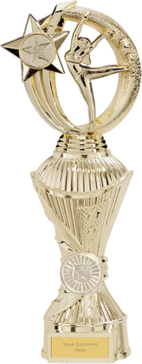 """Renegade Dance Heavyweight Trophy Gold 28.5cm (11.25"""")"""