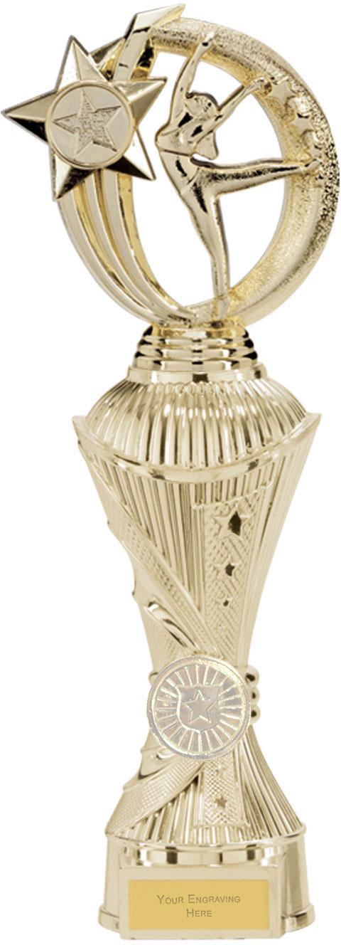 """Renegade Dance Heavyweight Trophy Gold 30cm (11.75"""")"""