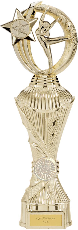 """Renegade Dance Heavyweight Trophy Gold 32cm (12.5"""")"""