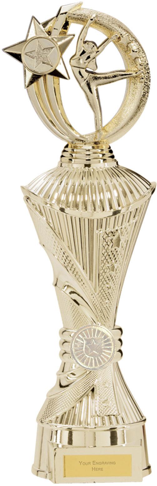 """Renegade Dance Heavyweight Trophy Gold 35cm (13.75"""")"""