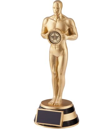 "The Ovation Achievement Statue Trophy 18.5cm (7.25"")"
