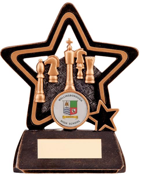 Little Star Chess Trophy 13.5cm