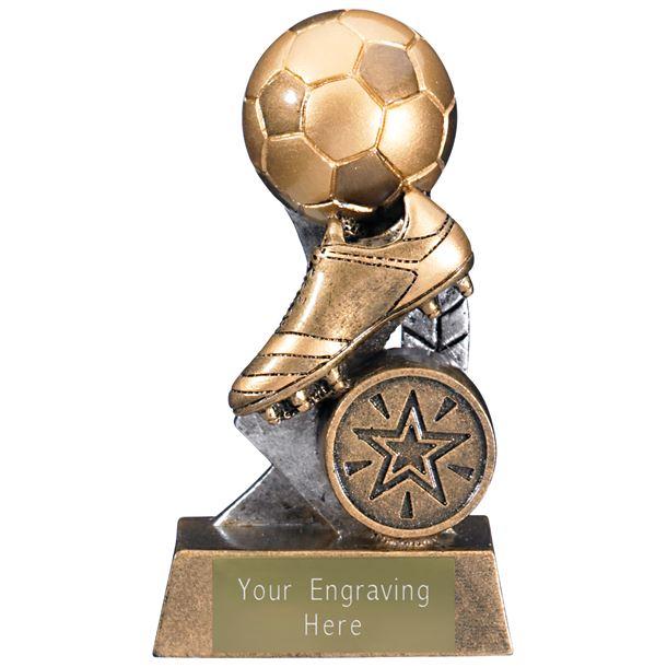 "Escapade II Ball and Boot Trophy 10.5cm (4.25"")"