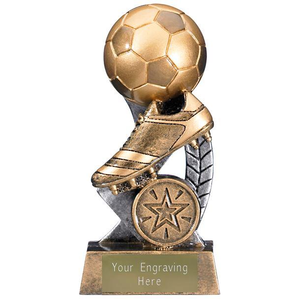 "Escapade II Ball and Boot Trophy 12.5cm (5"")"